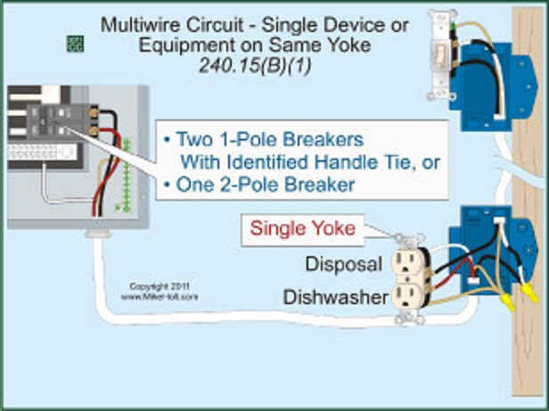 Split Receptacle Different Circuits