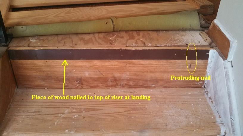 Open Riser Staircase Help   Convert Or Rebuild?
