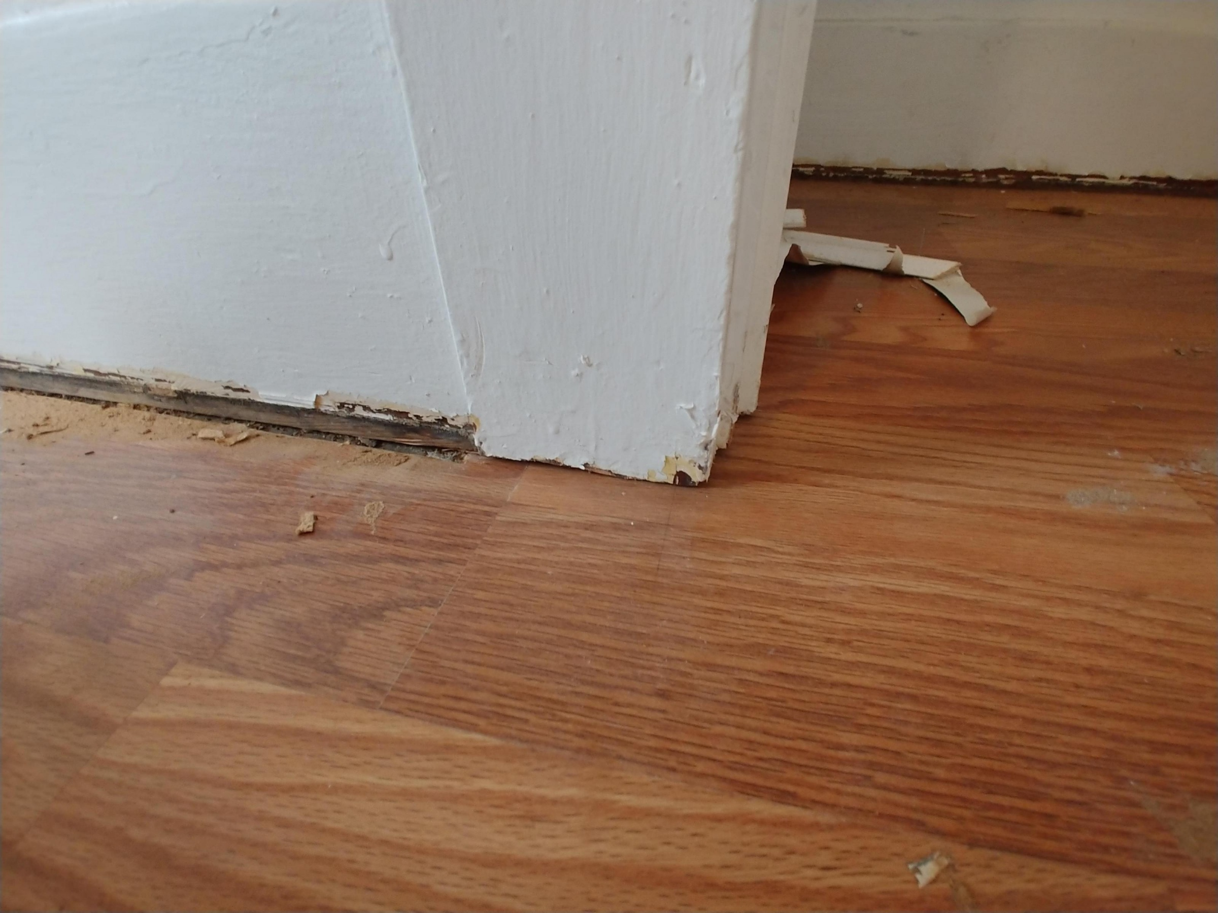Leave Gap Between Quarter Round And Laminate Flooring Page 2