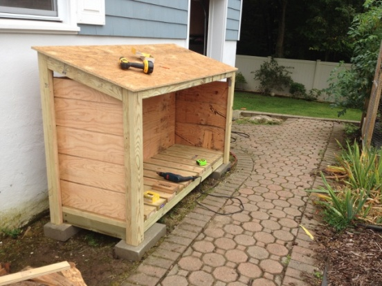 Firewood Shed From Old Black Amp Decker Plans Project