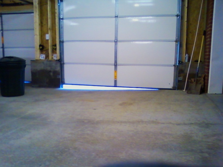 Great Garage DOOR WAY OFF DUE TO Uneven Slope!