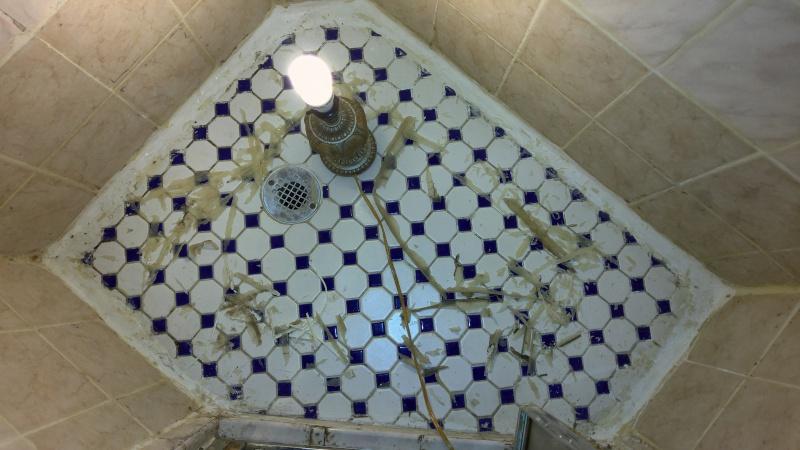 Cracked Moldy Tile Shower Help Tiling Ceramics Marble
