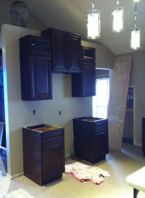 Crown Molding On Kitchen Cabinets - Carpentry - DIY ...