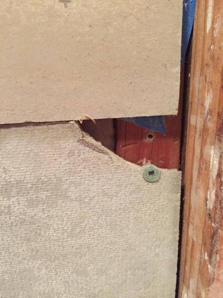 Chipped corner on cement backer board over tub-12509719_10153306952049071_443443311590336213_n.jpg