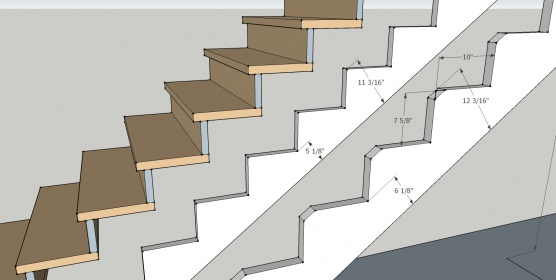 Cutting Stair Stringers 129 Stairs C ...