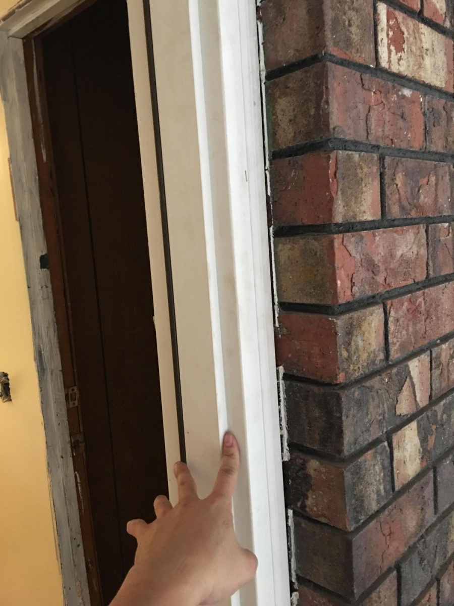 Exterior prehung door jamb not wide enough windows and - How to make a door jamb for an exterior door ...
