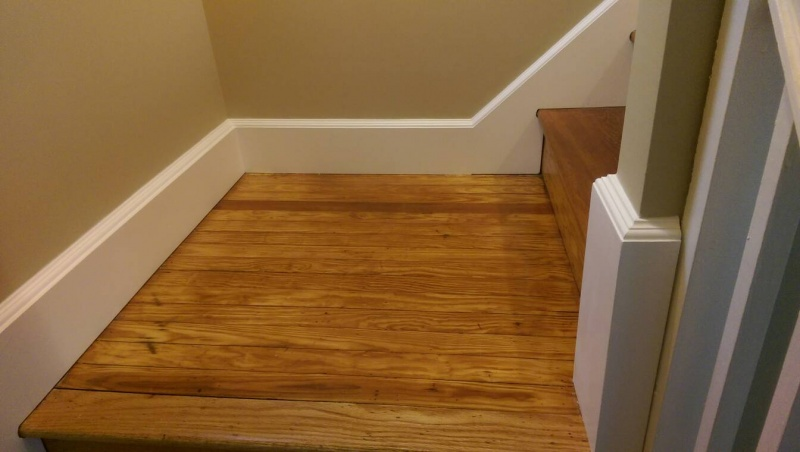 ... Need Help With Stair Skirt Board Trim 1412625471374 ...