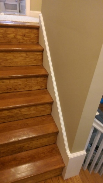 Need Help With Stair Skirt Board Trim - Carpentry