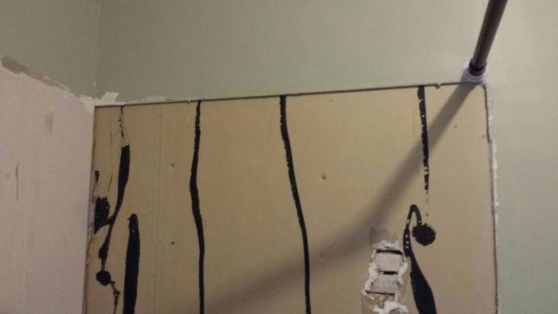 Install Cement Board Over Drywall Drywall Amp Plaster