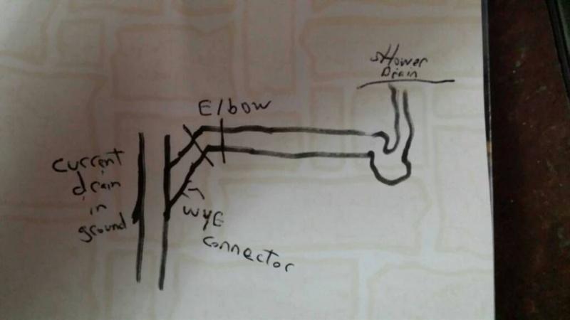 Shower drain tie in-1450830860502.jpg