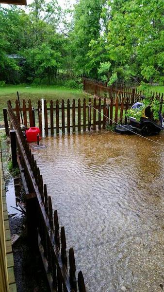 concrete drainage ditch - landscaping  u0026 lawn care