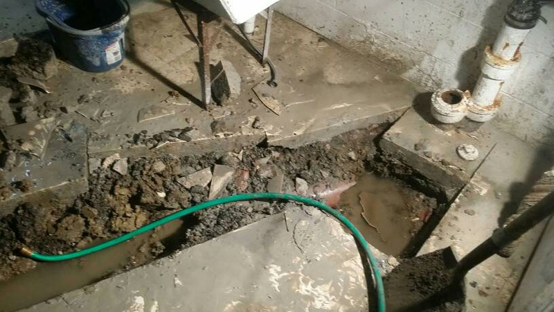 Old Clay Sewer Pipes Under Basement - Plumbing - DIY Home