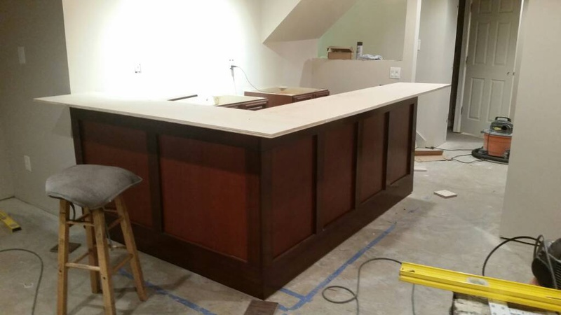DIY Basement Bar 1457572280003