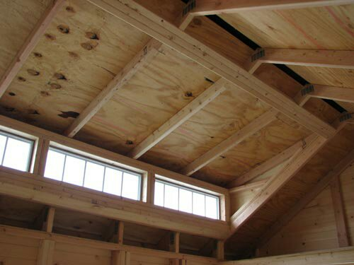 Shed Roof Framing With Dormer Transom Building