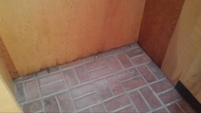 Enclosed entryway is leaking how to seal?-1475080229566.jpg