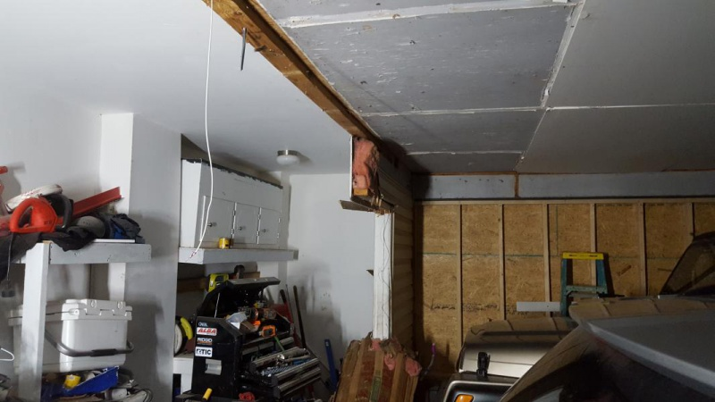 enclosed carport for garage wall removal
