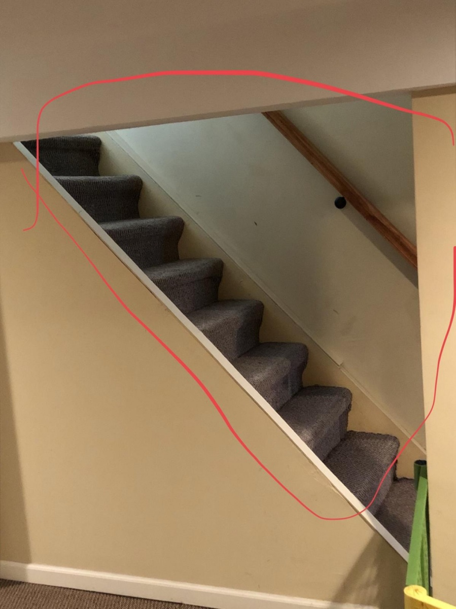 ... Question On Basement Stairs (banister/balusters) 1516c398 3f96 411f