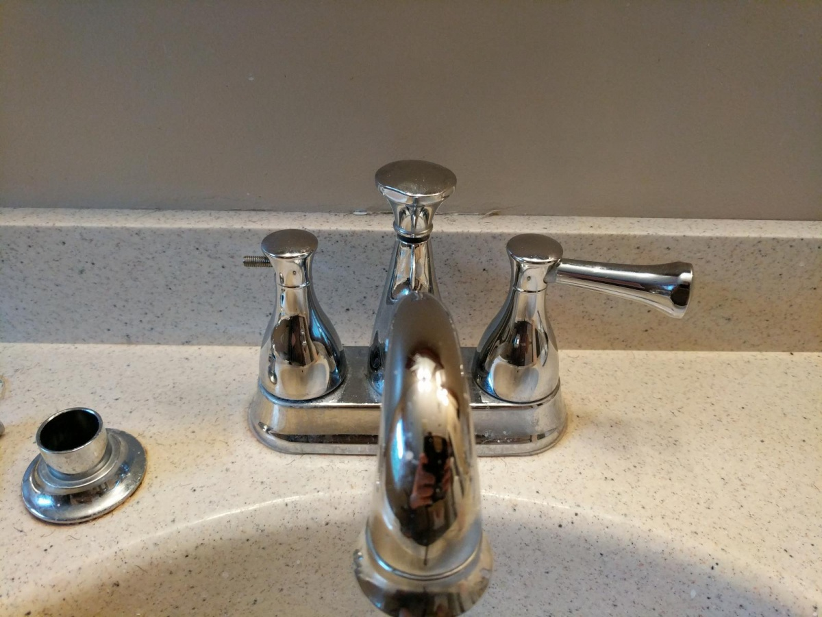 Removing A Faucet With No Caps Or Set S