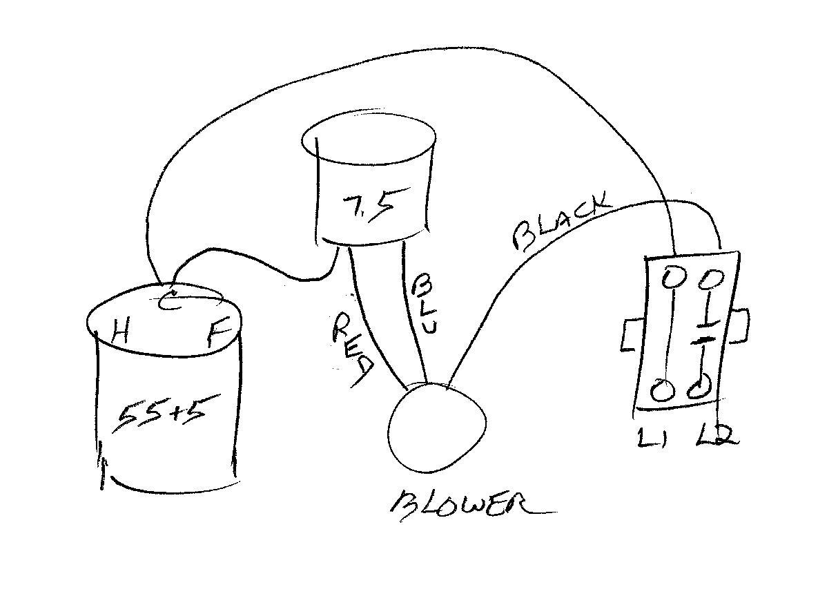 Eliminate Blower Relay Wiring Diagram - Hvac