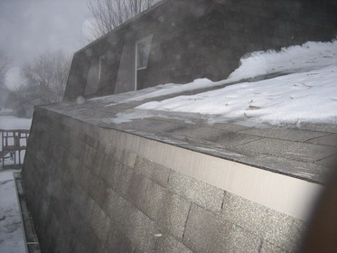 Ice And Water Shiled Over Or Under Drip Edge Leaking Roof