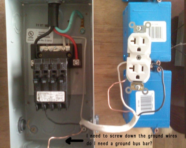 240v to subpanel with 4x 120v circuits electrical page 2 diy