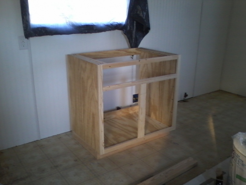 Complete Mobile Home Remodel-1st-cabinet-place.jpg