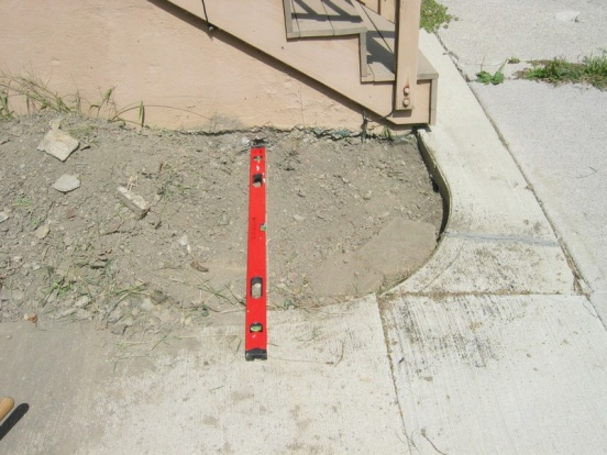 Adding exterior drain with concrete steps in way-2.jpg