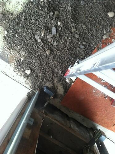 Something burrowing under garage-2.jpg