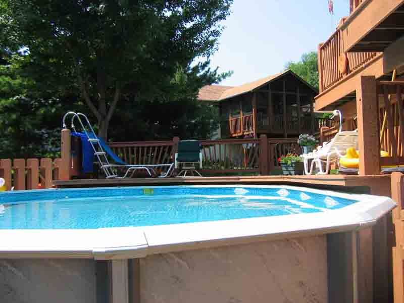 Pool Deck Cantilever Building Amp Construction Diy