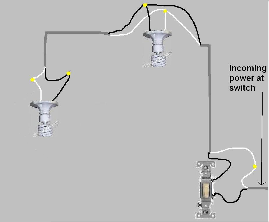 Lovely wiring one switch to two lights contemporary electrical diagrams519522 wiring 2 lights to 1 switch diagram 1 switch 2 cheapraybanclubmaster Image collections