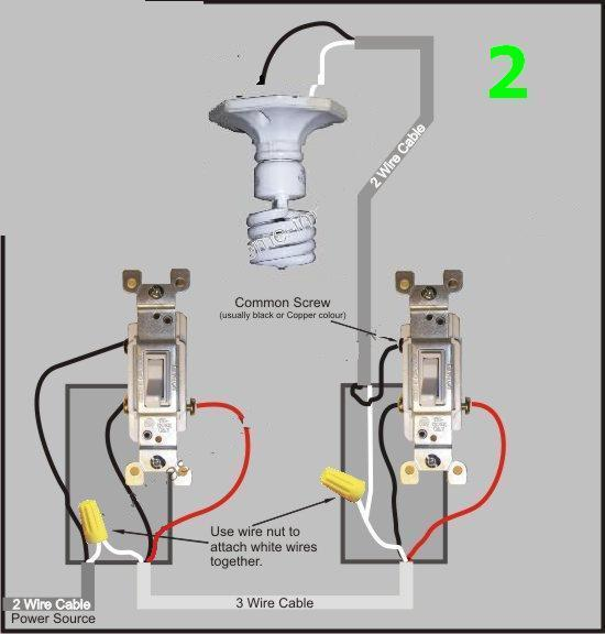 Perfect Two Switches One Power Source Ensign - Simple Wiring Diagram ...