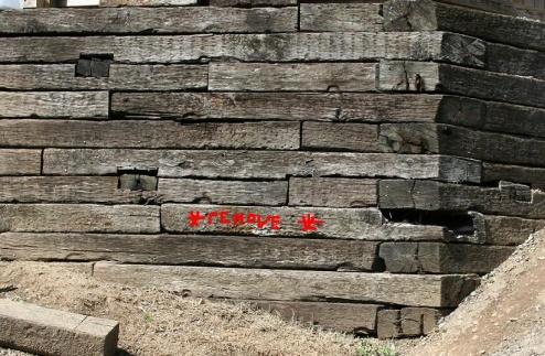Timber retaining wall repair-2009-03-18-wall-repair.jpg