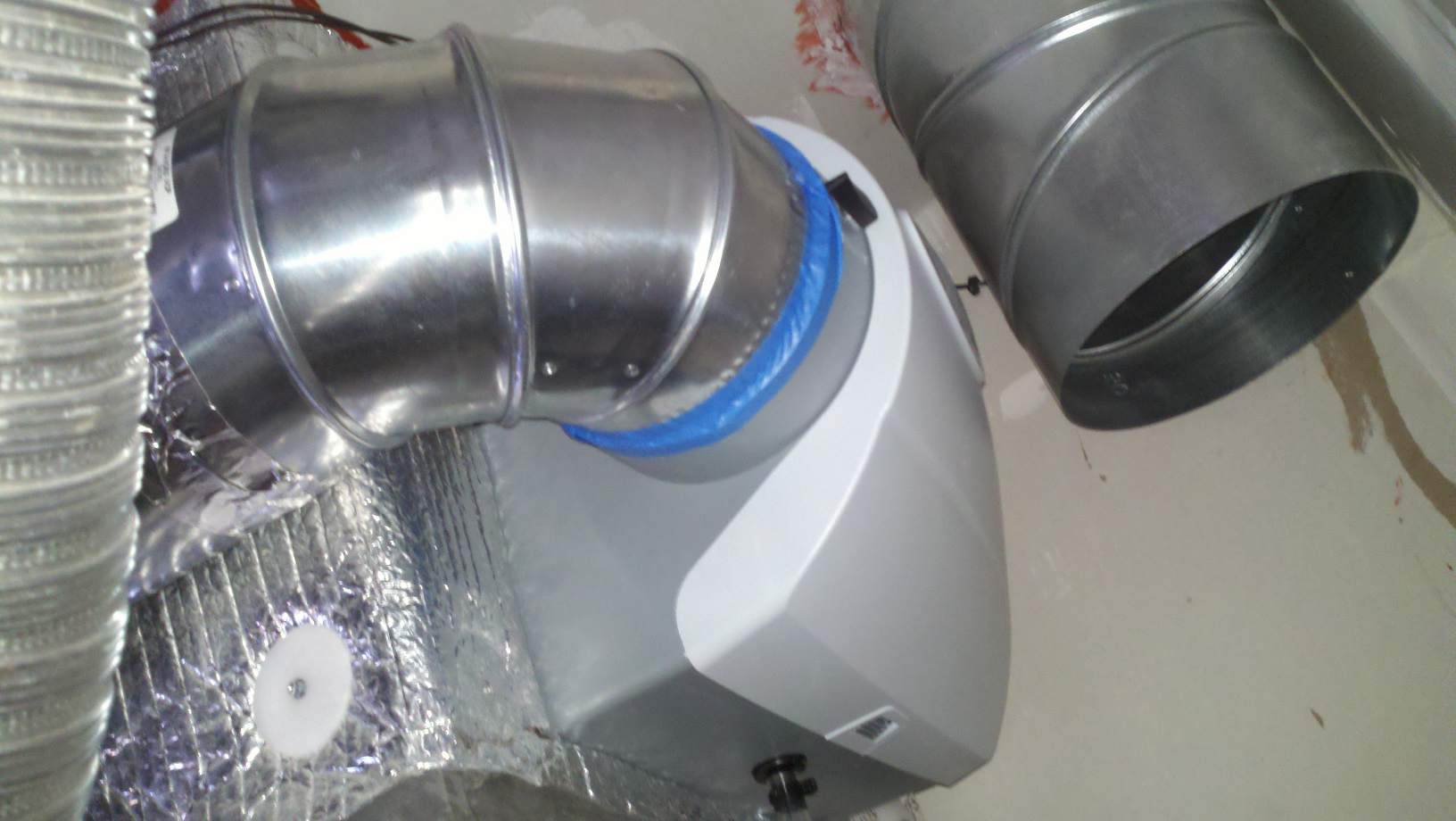 Back Flow On Humidifier Bypass HVAC DIY Chatroom Home Improvement  #315D9A