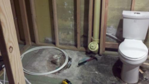 Help Moving Drains For Bathroom Remodel Plumbing DIY Home - Bathroom remodel cheyenne wy