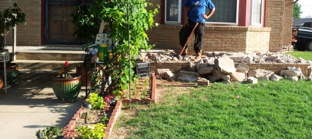 Raised Concrete Slab Porch Stone Masonry Diy