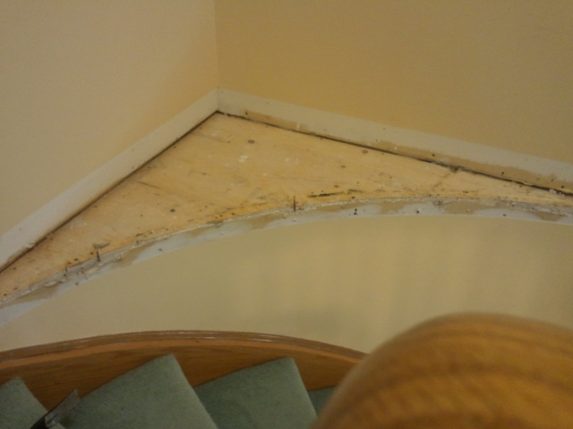 Need help on how to finish curved corner stair island-2012-05-26-11.24.40.jpg