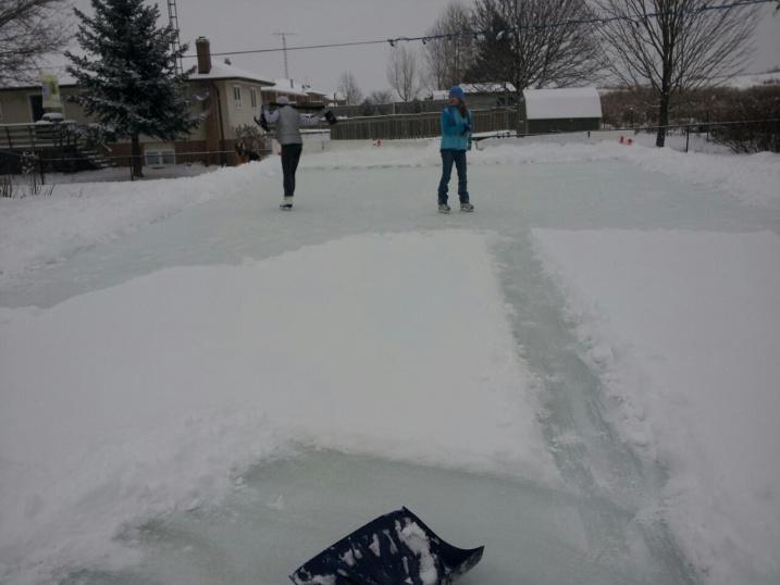 Backyard Skating Rink - Project Showcase - Page 7 - DIY ...