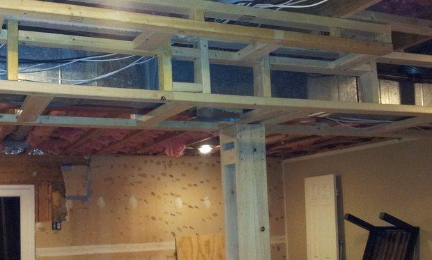 How To Extend Hvac Ceiling Vent Through New Soffit Hvac