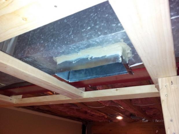 How To Extend HVAC Ceiling Vent Through New Soffit? - HVAC ...
