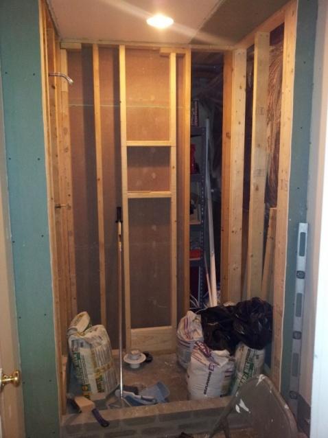 Basement Bathroom Shower Remodel - Kitchen & Bath ...