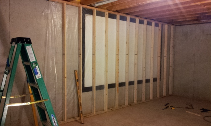 my basement project framing remodeling diy chatroom home rh diychatroom com Flooded Basement Sign My Basement