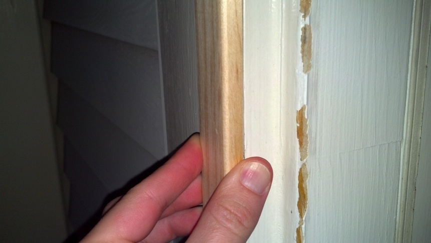 Brick Molding Too Shallow For Storm Door Windows And