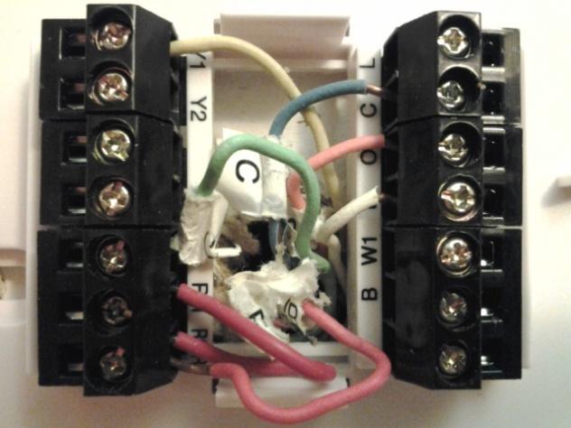 Hunter Thermostat 44860 Issue - Hvac