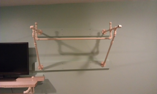 Cantilevered Clothes Rail w/ Black Pipe-2013-08-04-21.18.43.jpg