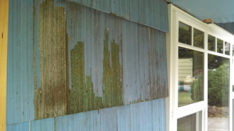 Removing Peeling Paint From Grooved Cedar Siding