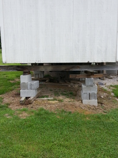 Help W Leveling Small Shed 6ft Off Ground Building