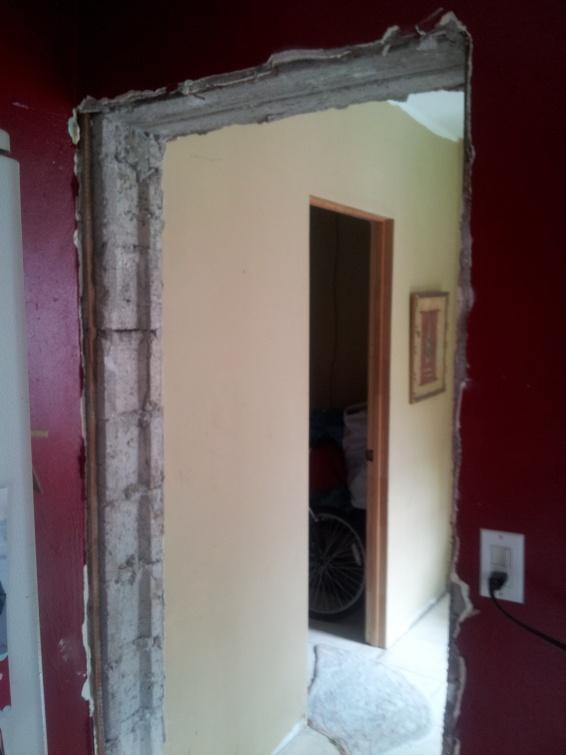 Door Frame Finishing Carpentry Diy Chatroom Home