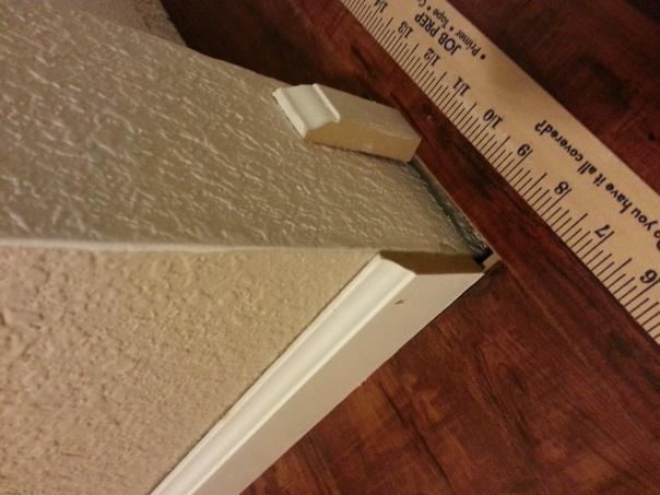 Help Laminate Floor Leaves A Gap Around Closet Flooring Diy