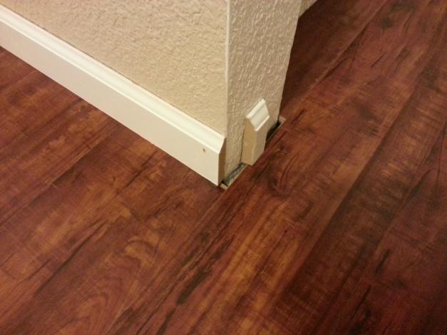 Help Laminate Floor Leaves A Gap Around Closet Flooring