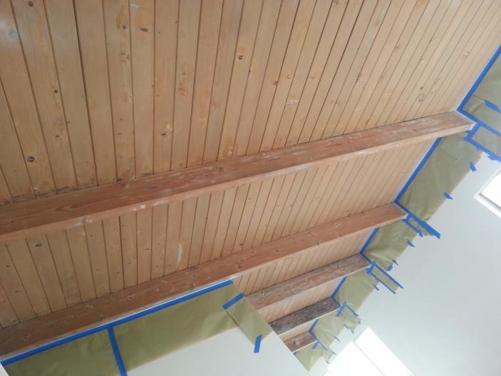 How to Prep/Paint Wood Ceilings-20140209_125310.jpg
